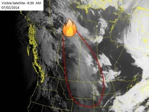 Smoke from Canadian fires hanging heavy over Billings