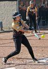 West's Kelly Brotzel gets a hit