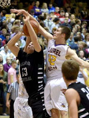 Billings Central vs. Laurel Boys Basketball
