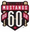 Mustangs to commemorate 60th season with sleeve patch
