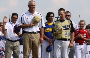 Feature photos: Little League World Series opening ceremonies