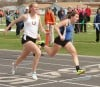 Chloe Rector edged Haley Gellner in the 100