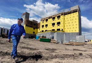 Labor-saving design helps speed along motel project
