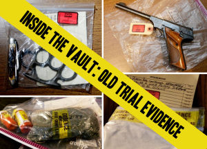 Inside the vault: Old trial evidence