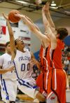 Skyview's Kendal Manuel is blocked