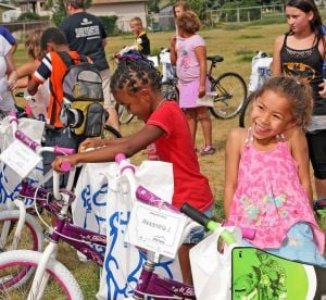 Free bikes to get 100 kids where they want to go — like grandma's house