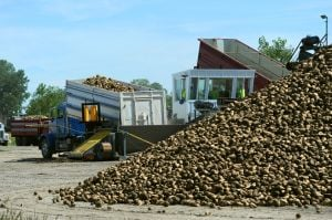 North Wyoming sugar beet harvest nearly done