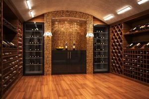Outfit your home with an opulent and stylish wine cellar