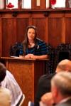Miranda Ainslie shines as RMC graduate