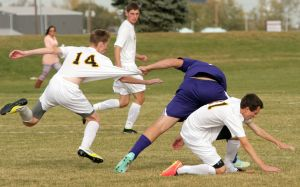 West Butte soccer action