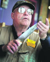 Living on the edge: Businessman still practices Finnish art of knife sharpening, makes house calls