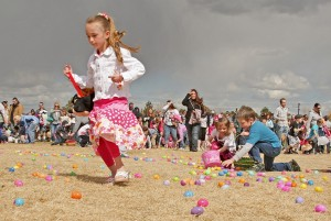 First Easter egg hunt is Friday morning