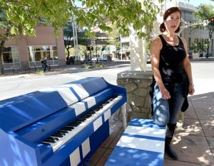 Undeterred by vandals, public art enthusiasts roll out new piano