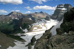 Grinnell Glacier: Glacier sits in wild country despite crowds