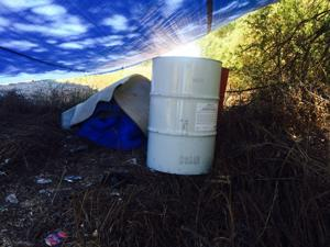 Chemicals in drums abandoned on Crow Reservation identified