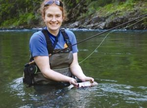Summer fly fishing washes worries away