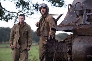 Review: Pitt-commanded 'Fury' packs B-movie firepower
