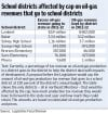 Multimillion-dollar cash flows may be done in oil, gas school districts - sort of