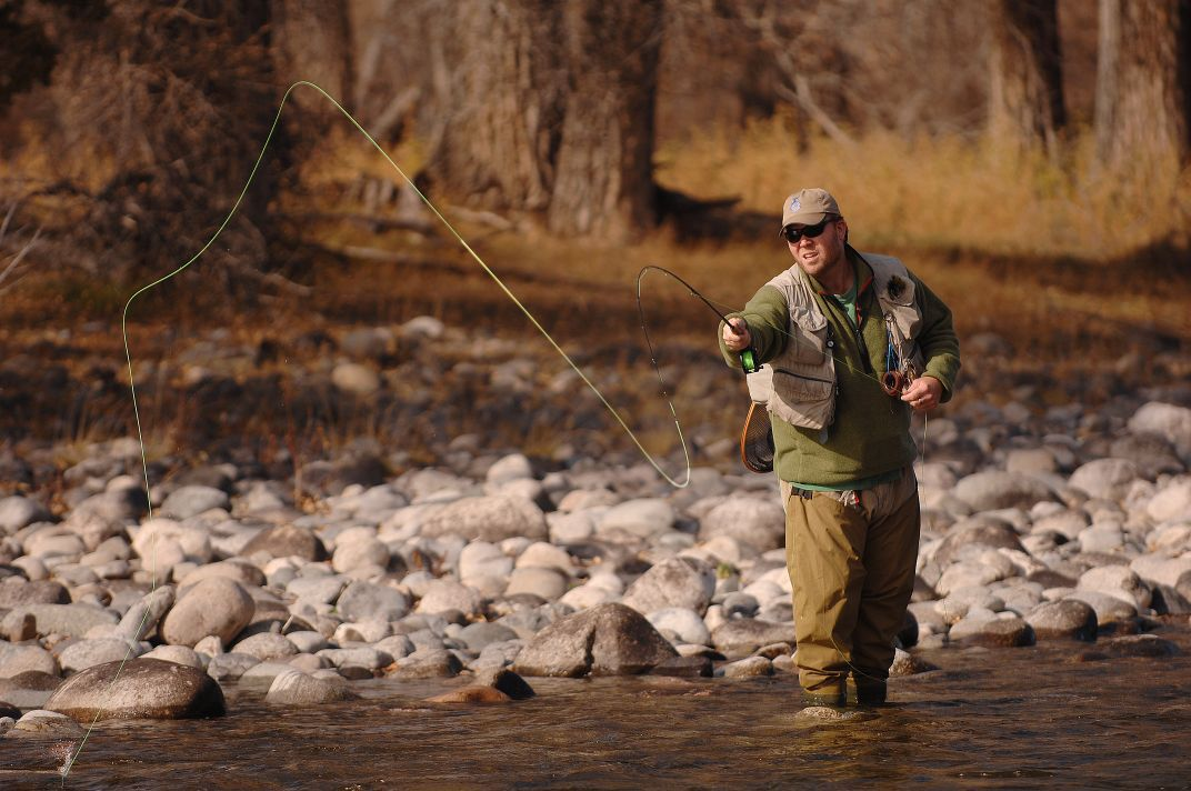 Fly fishing classes offered in april outdoors for Fly fishing classes