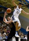 Skyview's Kendal Manuel blocks a shot
