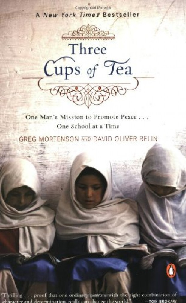 essay about three cups of tea
