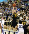 Jared Samuelson of West attempts a shot