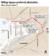 Billings bypass preferred alternative