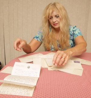 Woman hopes to return WWII letters to family
