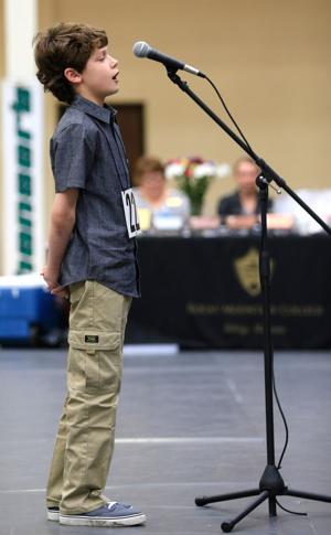 Seventh-grader Roy King