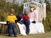 Spooky creatures lurk in fields outside Stevensville for Scarecrow Festival