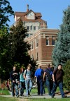 Students at MSU Billings head to classes