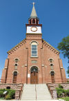 St. Francis Xavier's historic steeple changed the landscape