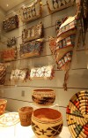 Woven baskets and other artifacts