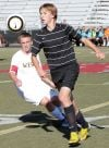 Late goal leads West girls; Golden Bears, Broncs boys play to draw