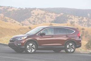 New options in the 2015 Honda CR-V provide more value, choice