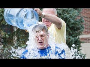 MSUB Chancellor Mark Nook ice bucket challenge