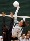 Gallery: Central vs. Miles City Volleyball