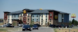 Hotel opens on Billings near Cabela's