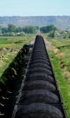 Montana coal train