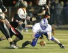 Reece Quade of Skyview recovers a fumble
