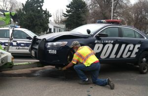 BPD car involved in crash with alleged DUI driver