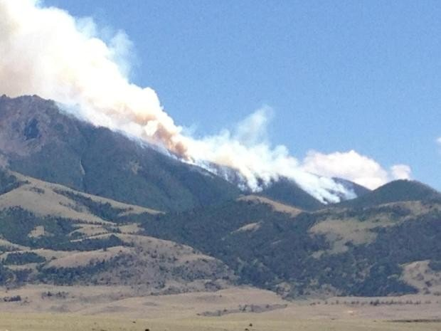 Emigrant fire grows to 420 acres