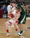 Glendive's Taylor Schwartz and Central's Jacob Stanton
