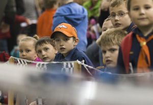 Feature photo and video: Pine Wood Derby Races