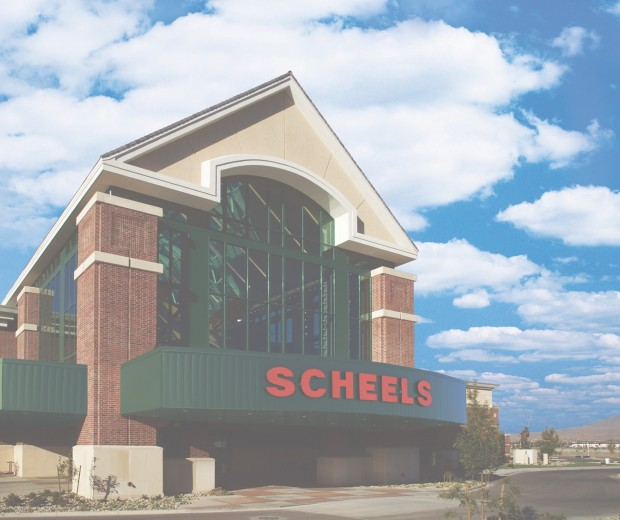 New 220 000 square foot scheels will be the largest stand for Exterior standalone retail