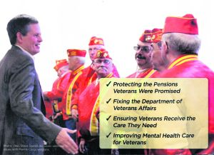 Marine Corps League: Daines mailer depicts discussion that never happened