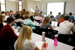Largest class ever of Rocky PA students starts