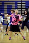 Zumba in the gym