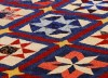A patriotic star quilt
