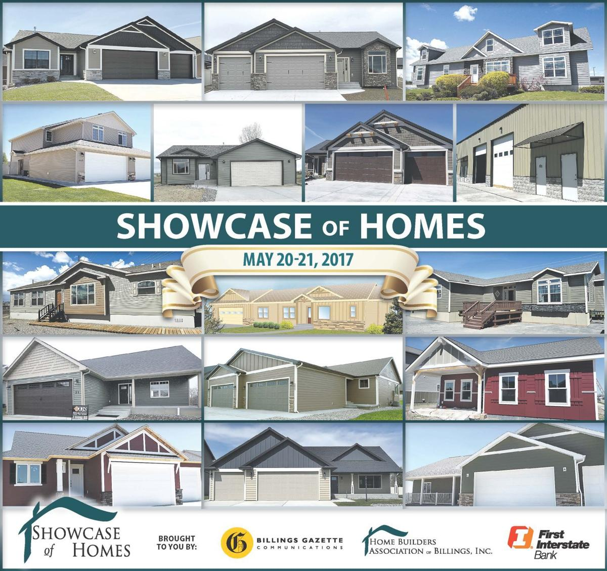 2017 showcase of homes home and garden for Home builders billings mt
